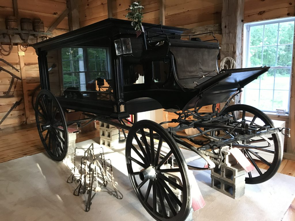 Brookline NH Hearse